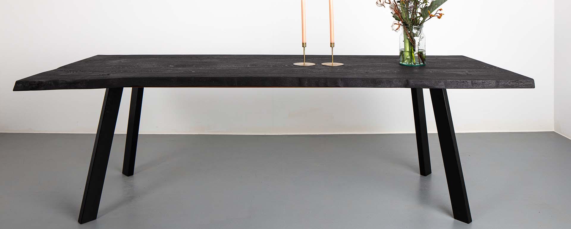 Massief houten tafels, op maat gemaakt